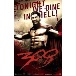 300 Tonight we dine in hell - plakat