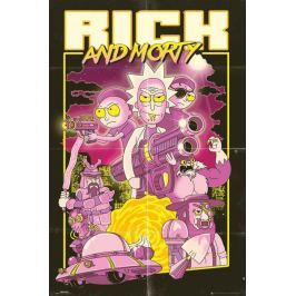 Rick and Morty Action Movie - plakat