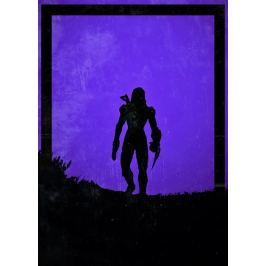 Dawn of Heroes - Jane Shepard, Mass Effect - plakat Wymiar do wyboru: 20x30 cm