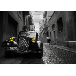 Citroen Traction Avant - plakat 3D