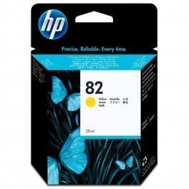 HP oryginalny ink CH568A, No.82, yellow, 28ml, HP HP DesignJet 510